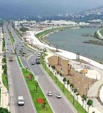 vista carretera cornisa Rio Martil