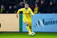Imran Louza con la camiseta del FC Nantes