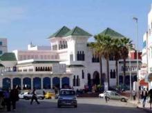 Exterior Mercado central Larache