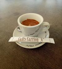 Taza Café Carrión, Tetuán