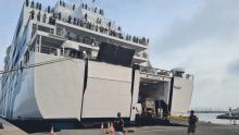 Puerto Sète salida ferri a Marruecos